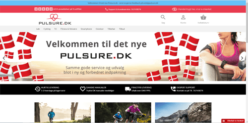 The New Pulsure.dk
